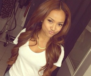 beautiful, christina milian, and karrueche tran image