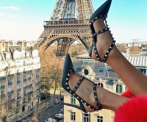 fashion, paris, and shoes image