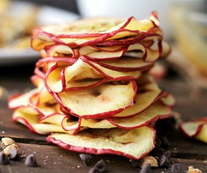 apple, chips, and Easy image