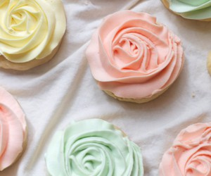 pastel, Cookies, and food image