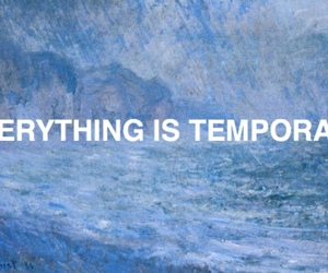 quote, blue, and temporary image