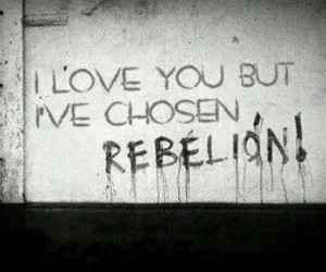 art, rebel, and rebellion image