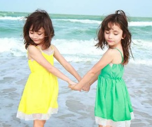 twins and cute image
