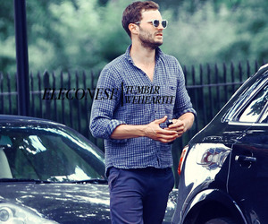 Jamie Dornan, fifty shades, and 50 sombras image