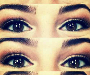 eyes, girl, and whosshe? image