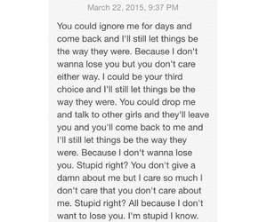 heart break, it hurts, and quotes image
