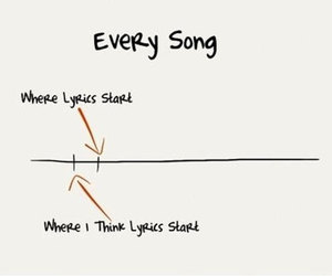 song, Lyrics, and funny image