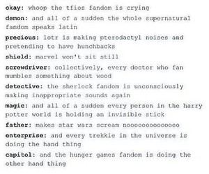 dr who, sherlock, and supernatural image