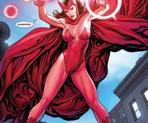scarlet witch, Marvel, and wanda maximoff image