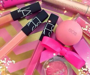 pink, eos, and girly image