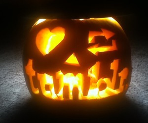 tumblr, Halloween, and pumpkin image