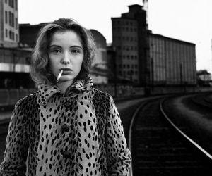 julie delpy, cigarette, and grunge image