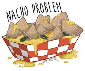 food, funny, and nachos image