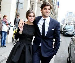 couple, fashion, and olivia palermo image
