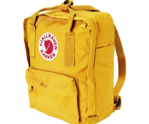 backpack, yellow, and rucksack image