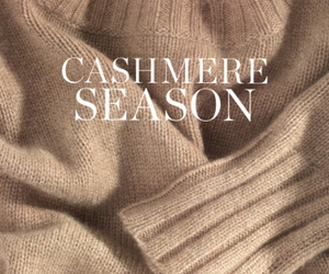 cashmere, autumn, and sweater image
