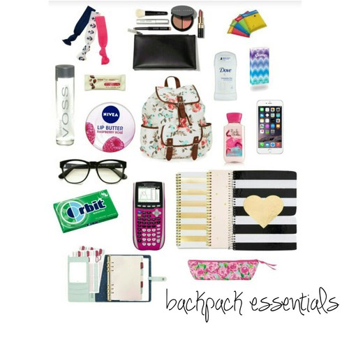 back to school, backpack, and essentials image