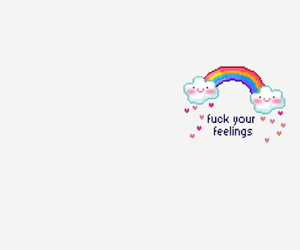 header, rainbow, and twitter image