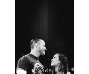 wwe, cm punk, and aj lee image