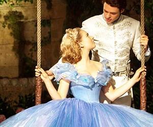 cinderella, prince, and movie image
