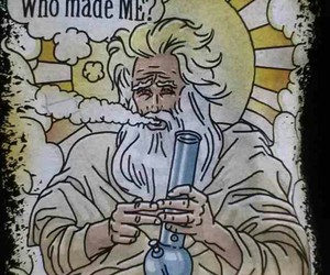 weed, god, and stoned image