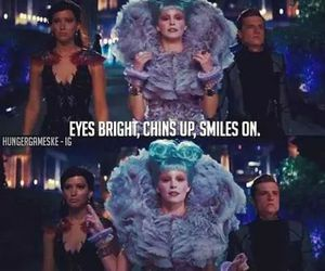 catching fire, effie, and katniss image