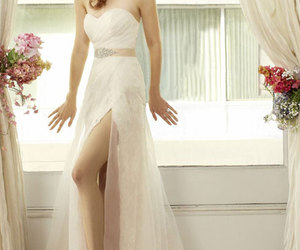 fashion, flowers, and bride image