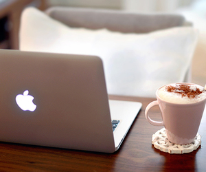 macbook and apple image