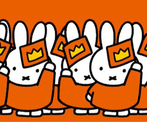 many, miffy, and orange image