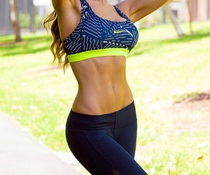 fitness and abs image