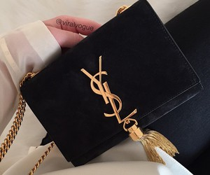 black and YSL image