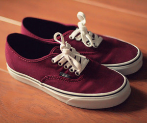 timeless design 2b75f 92e13 vans, shoes, and red image