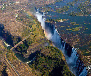 zimbabwe, Victoria Falls, and nature image