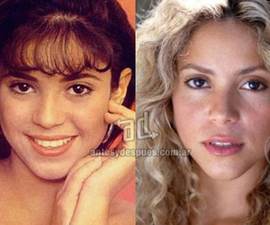 nose job, shakira nose job photos, and shakira nose job price image