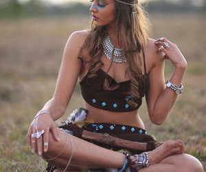 fashion, jewelry, and summer image