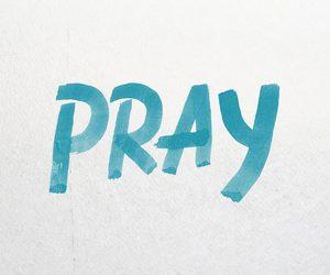 Christ, jesus, and pray image