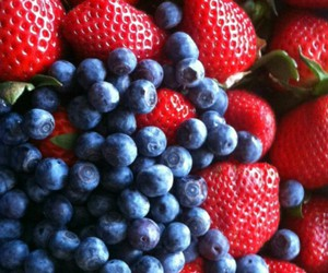 blueberries, FRUiTS, and love image
