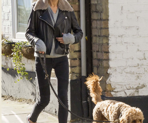 eleanor calder and dog image