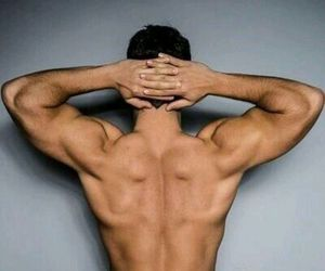 back, muscles, and derek hale image