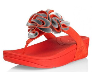 cheap, sandals, and orange image