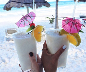 bar, coconut, and colors image