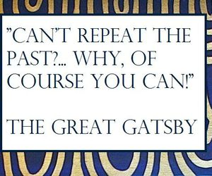 the great gatsby and quote image