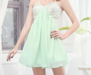 fashion, girls, and mint image