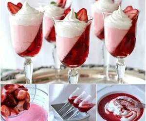 strawberry, food, and diy image