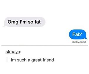 friendship, funny, and jokes image