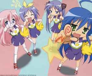 lucky star, anime, and miyuki image