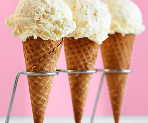 cone, food, and ice cream image