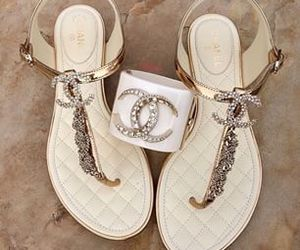 chanel and sandals image