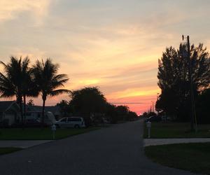 sky, blue, and orange image