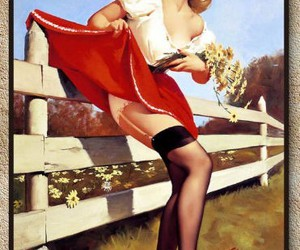 decorative, pinup, and poster image